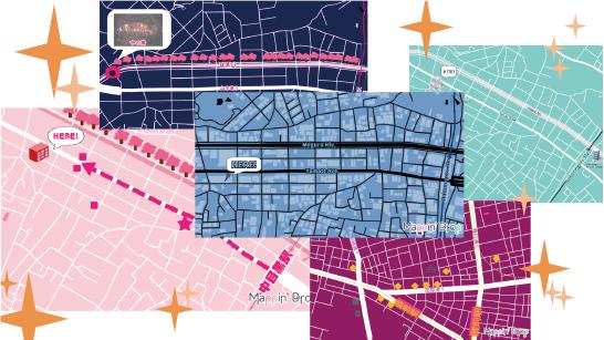 地図 作成 アプリ